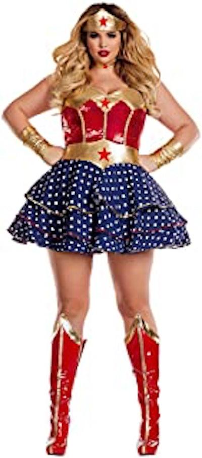 Women's Wonderful Sweetheart Plus Size Costume
