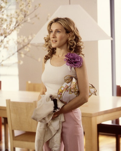 """Actress Sarah Jessica Parker Stars In The Comedy Series """"Sex And The City"""" Now In Its Third Season."""