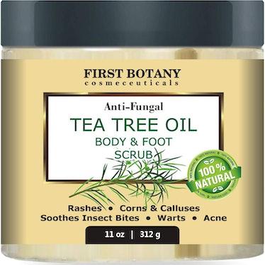 First Botany Tea Tree Oil Body & Foot Scrub