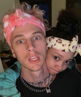 Machine Gun Kelly's real name is Colson Baker.