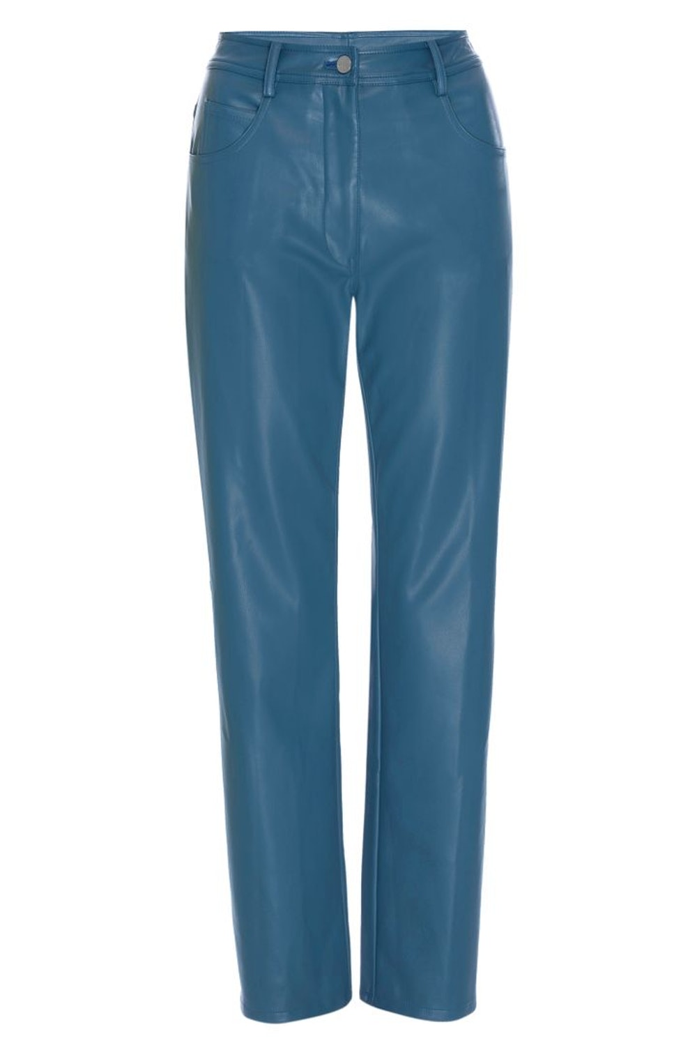 Junior Pant in Teal Leather