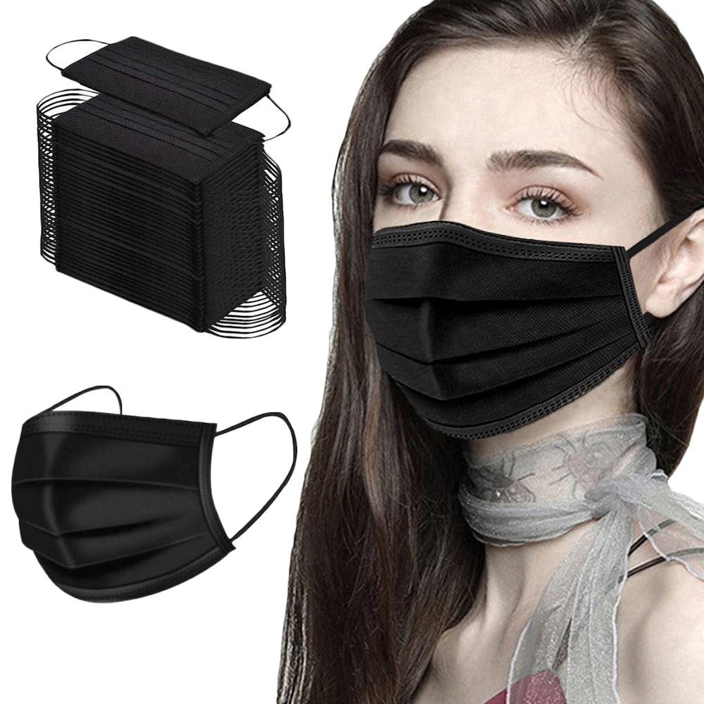 NNPCBT Disposable Face Masks (50-Pack)