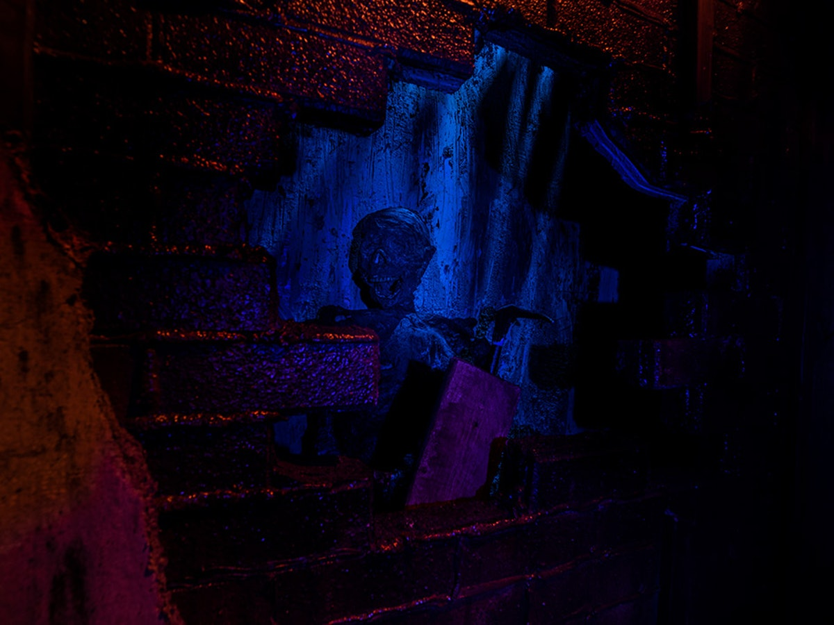 The Basement Monster is one of the ghostly inhabitants of Hill House at Universal Studios.