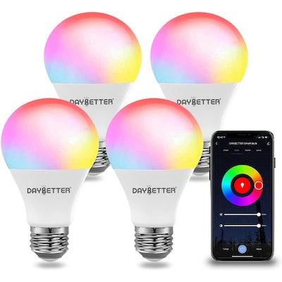 DAYBETTER Smart Light Bulbs (4 Pack)