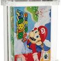 Record-setting Super Mario 64 cartridge