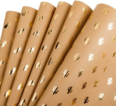 RUSPEPA Kraft Wrapping Paper