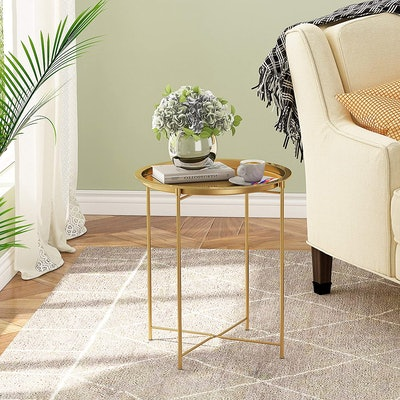 HOMEFORT Round End Table
