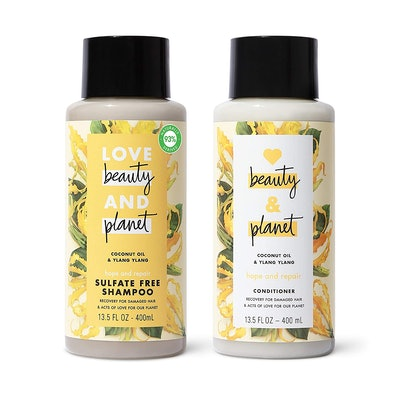 Love Beauty And Planet Hope and Repair Shampoo and Conditioner