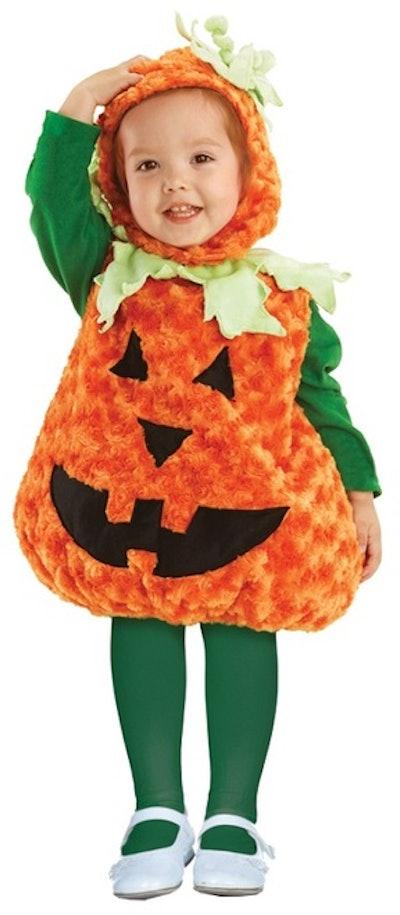 Plush Pumpkin Costume