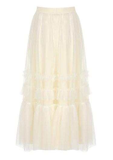Elisa Tulle Midi Skirt  Selezza London