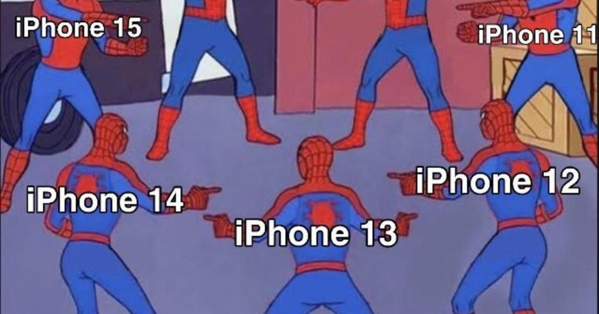 People can t stop roasting the iPhone 13 for being boring