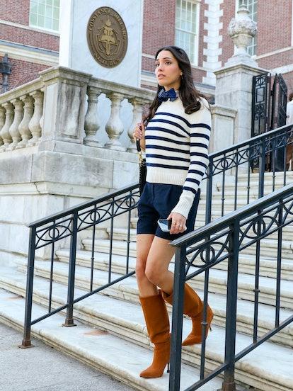 Luna La always rocks put-together, fashionable looks on 'Gossip Girl.'