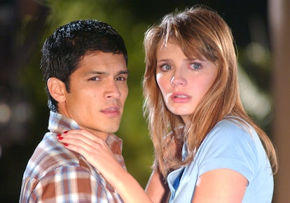 DJ and Marissa Cooper from The O.C.
