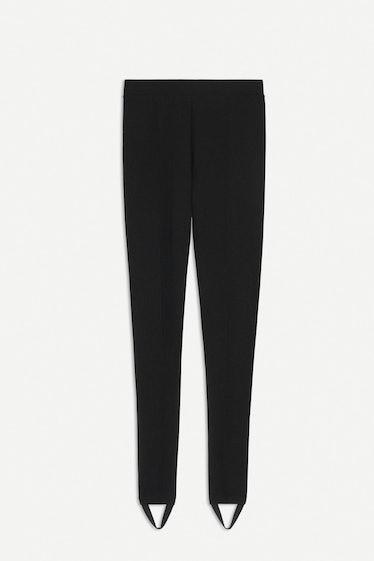 Fuzzy Stirrup Pants
