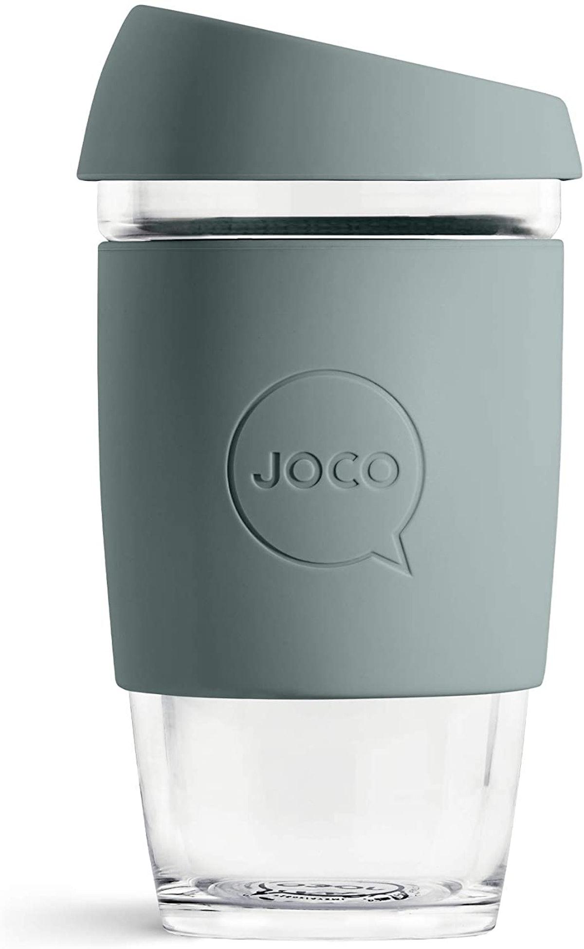 JOCO Glass Reusable Coffee Cup