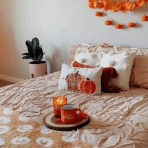 A TikTok featuring fall decoration ideas.