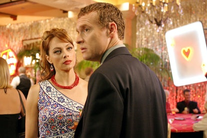 Julie and Jimmy Cooper in The O.C.