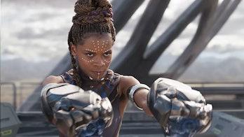 Shuri in Black Panther.