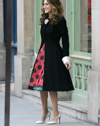 Sarah Jessica Parker at the Paris in Paris, France.
