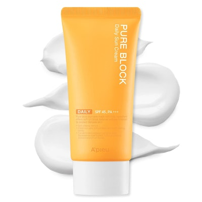 A'PIEU Pure Block Daily Sunscreen Cream SPF45/PA+++