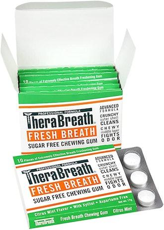 TheraBreath Fresh Breath Chewing Gum (6-Pack)
