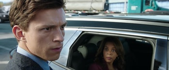 Tom Holland as Peter Parker in Spider-Man: No Way Home
