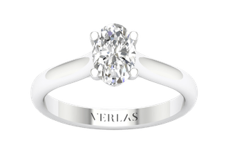 Iconic Ellipse engagement ring from Verlas.