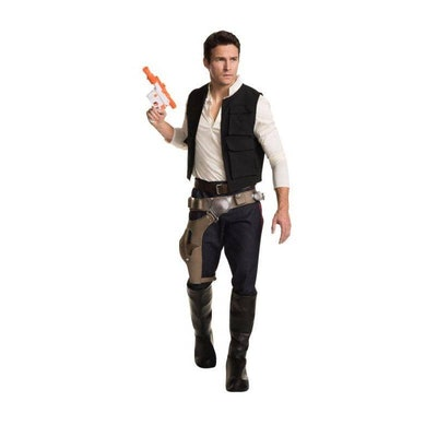 Man wearing Han Solo costume