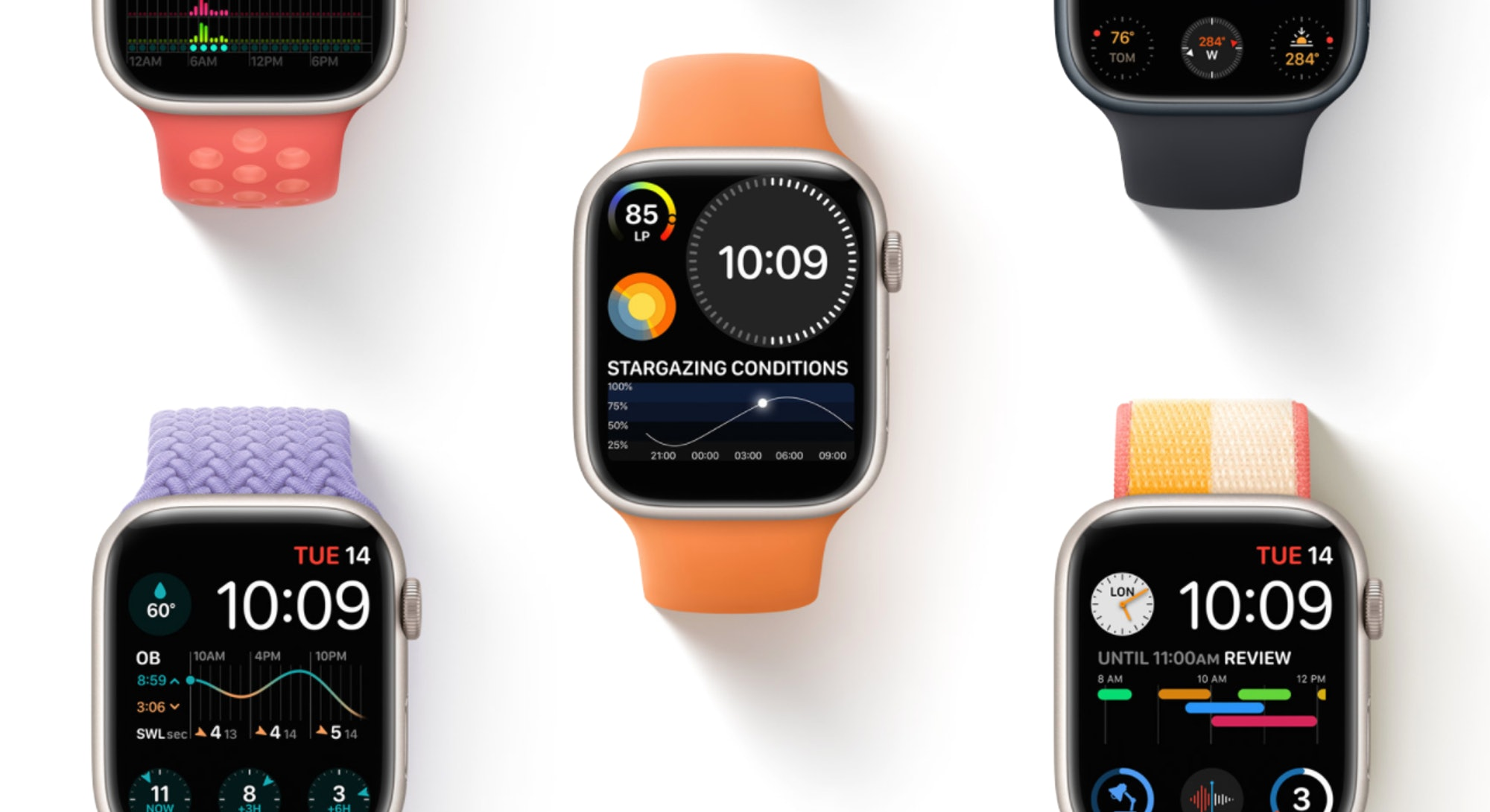 The Apple Watch series 7 has lots of new features.