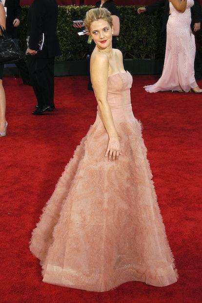 Drew Barrymore attends 61st Annual Primetime Emmy Awards - Arrivals at Nokia Theatre LA Live on Sept...