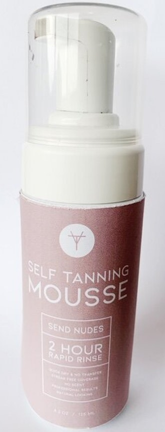 2 Hour Rapid Rinse Self-Tanning Mousse