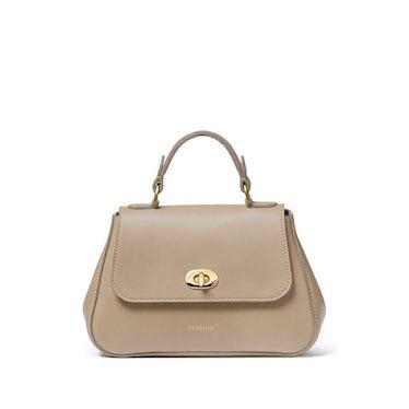 Taupe Atlantic Mini Holly handbag from Tusting.