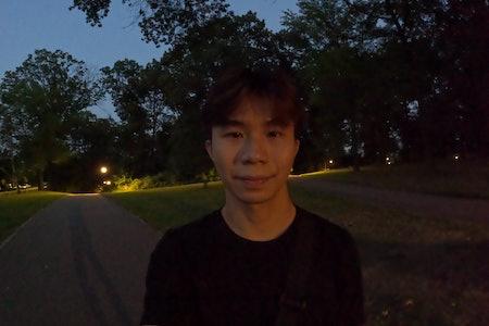 GoPro Hero 9 Black vs. Hero 10 Black low light night photo comparison test