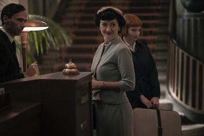 Marielle Heller as Alma Wheatley in The Queen's Gambit