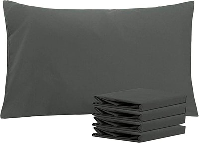 NTBAY 100% Brushed Microfiber Pillowcases (4-Pack)