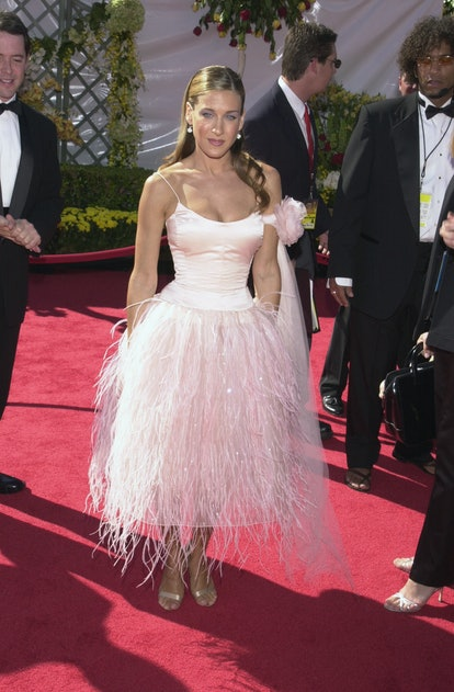 Sarah Jessica Parker at the 2000s Emmys.