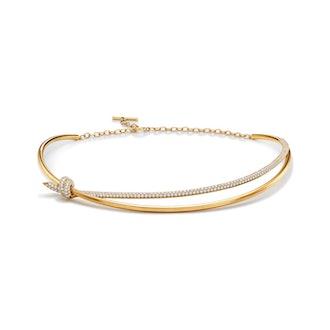 Tiffany Knot Double Row Necklace