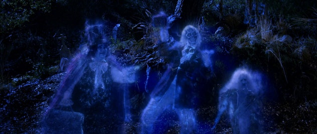 The Haunted Mansion is a movie based on the Disney theme parks attraction