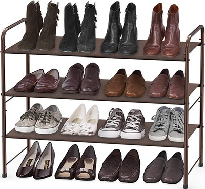 Simple Houseware 3-Tier Shoe Rack Storage Organizer