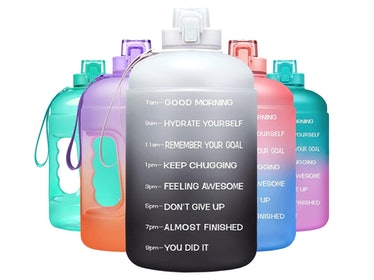 Venture Pal 64 Oz Motivational Water Bottle with Time Marker
