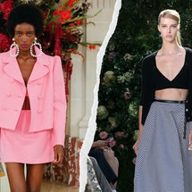 See the Spring 2022 trends you can start shopping now, from 2000s feather trim to '60s suiting.