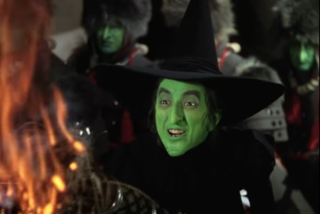 The Wicked Witch of the West was played by Margaret Hamilton.