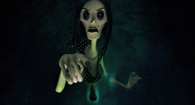 Coraline is based on a story by Neil Gaiman