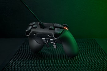 Razer Wolverine V2 Chroma controller with extra programmable buttons.
