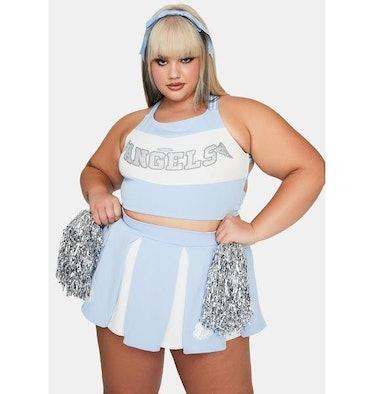 Trickz N' Treatz True Heaven's Cheerleader Costume Set
