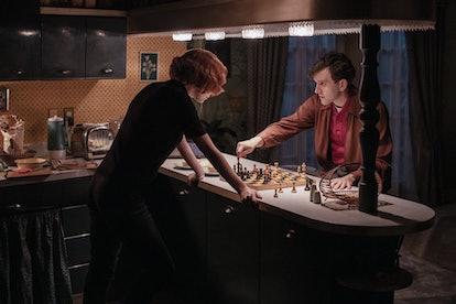 Harry Melling as Harry Beltik in The Queen's Gambit