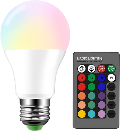 Droiee Color Changing Dimmable Light Bulb