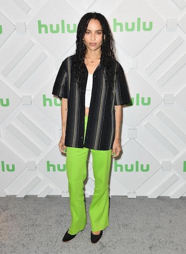 Zoe Kravitz at Hulu event.
