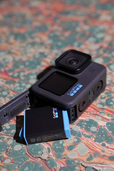 GoPro Hero 10 Black is a battery hog