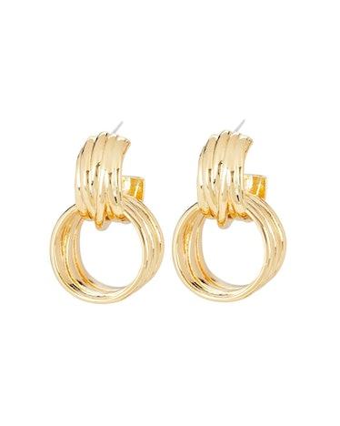 The Idia Doorknocker Earrings